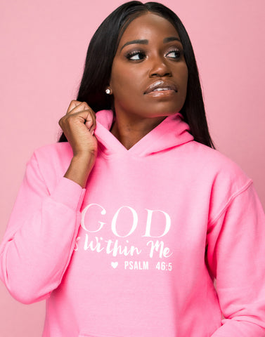 God Is Within Me Hoodie