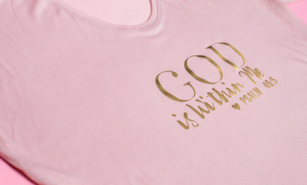 God Is Within Me Tee