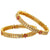 AD Ruby Stone Bangles - Sasitrends