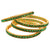 Antique Gold Broad Bangles