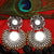 German Silver Glass Earrings