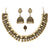 necklace set with nose ring