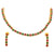 AD Stone Choker Necklace
