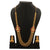 Sasitrends American Diamond Micro Gold Plated Layer Chain Necklace with Jhumki for Women and Girls