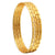 Sasitrends 1 Gram Gold Plated Thin Size Daily Wearable Bangles for Women - Set of 4