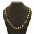 Sasitrends Handmade 1 Gram Gold Plated 18 Inches Pearl Mala for Women and Girl