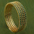 AD Green Stone Bangles Jewellery - Sasitrends