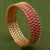 AD Stone Studded Bangles Red