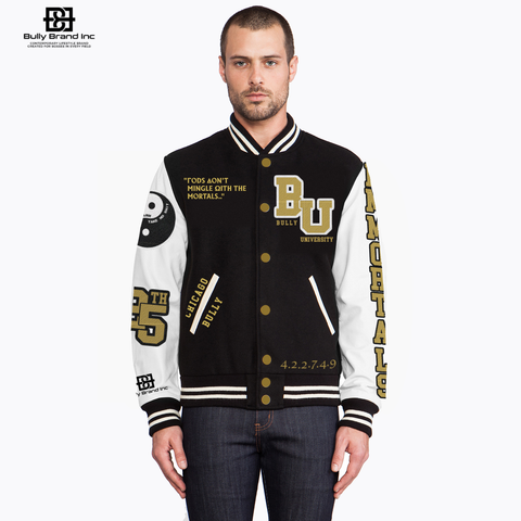 BULLY UNIVERSITY LETTERMAN JACKET