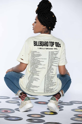 BILLBOARD TOP 100's TEE