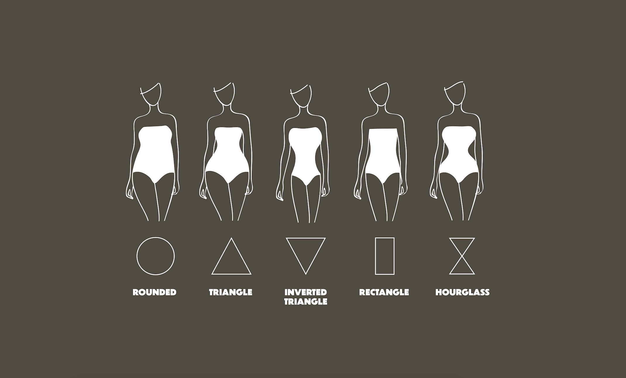 Choose lingerie based on your body shape