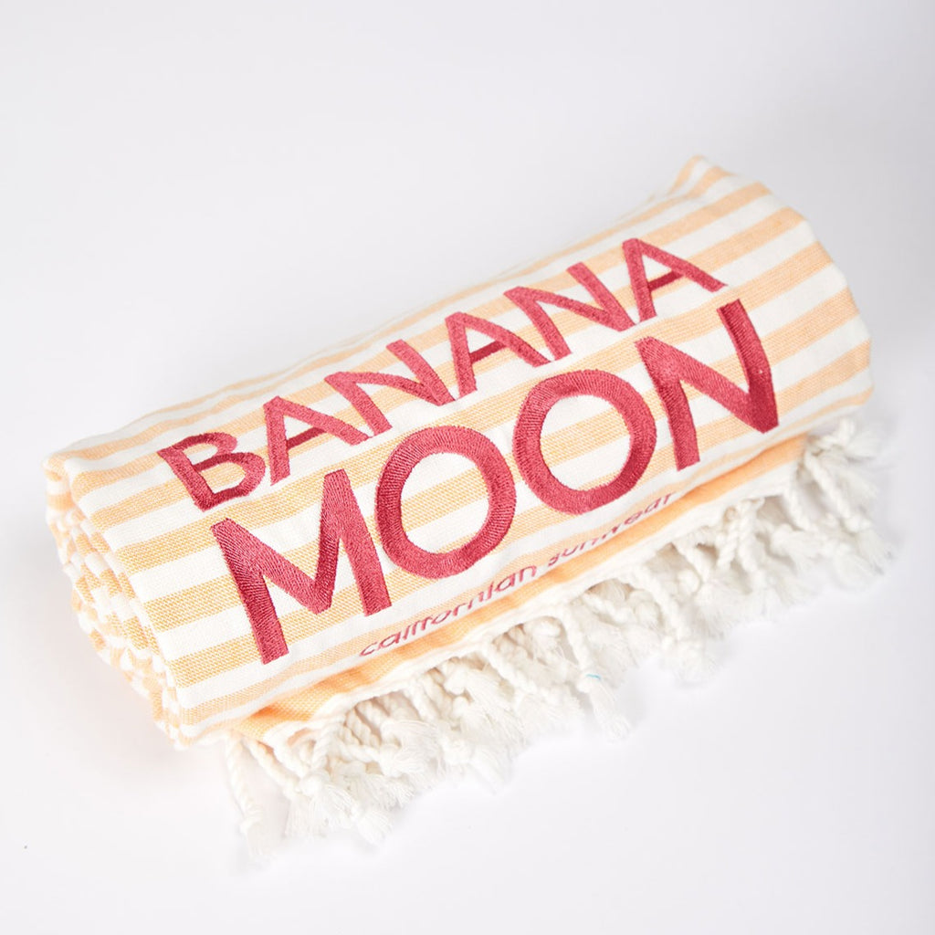 Banana Moon Peaches Marbella Beach Towel