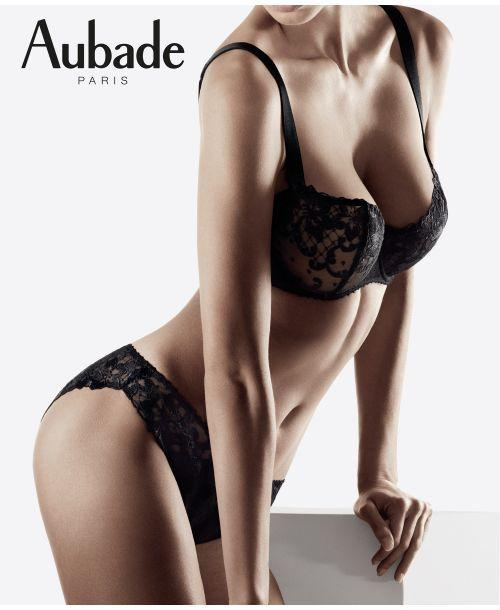 Aubade Wandering Love Wired Half Cup Full Bra