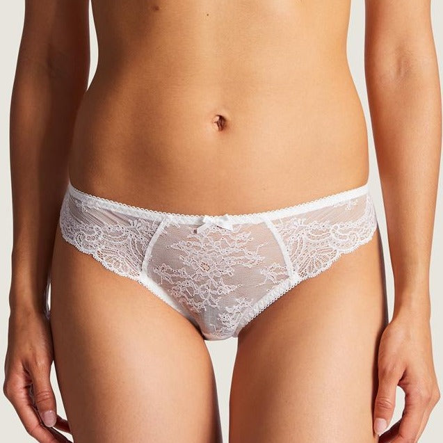 Aubade Danse Lace Briefs The lace around the hips provides a lightweight feel and microfibre back is totally seamless. Featuring very varied designs, this line offers beautiful yet comfortable lingerie