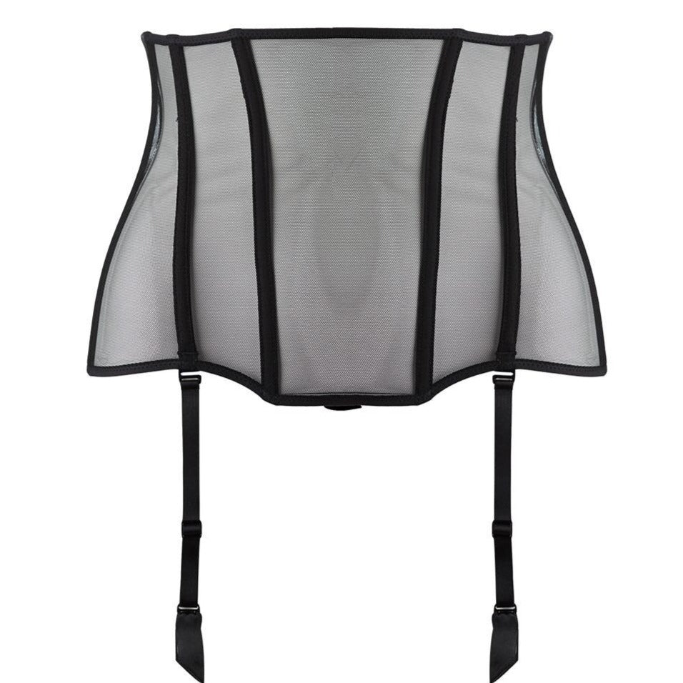 An exceptional, ultra-sexy piece with a hint of retro, the waistcincher beautifully enhances the figure. Wider than a suspender belt, it is worn on the waist, high or low as you wish