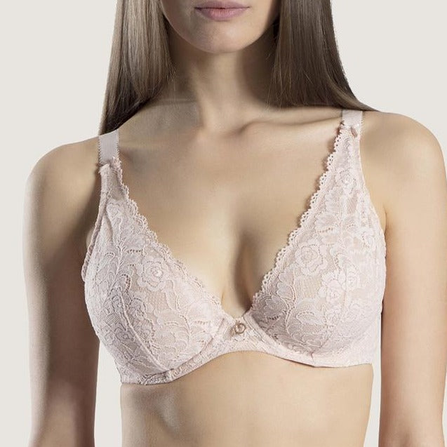 Aubade Rosessence Wired Plunge Full Bra