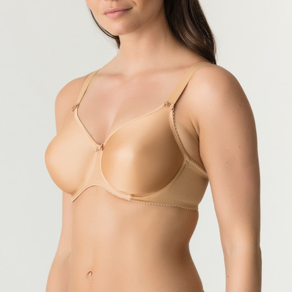Prima Donna Satin Wired Smooth T Shirt Bra