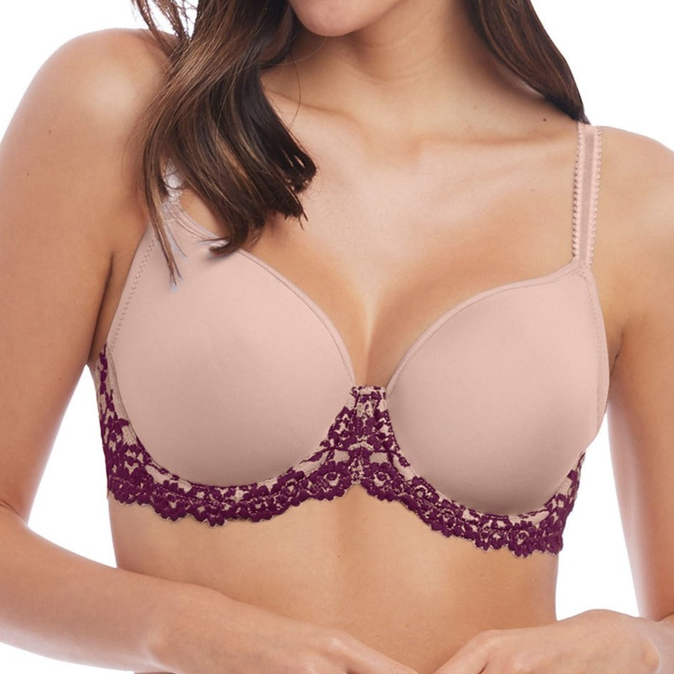 Wacoal Embrace Lace Padded T-Shirt Bra