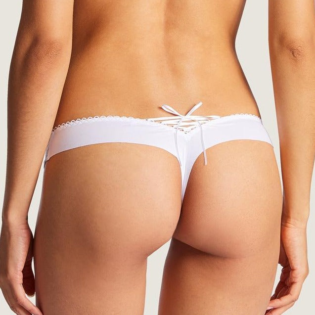 Aubade Bahia Cotton Seamless Thong
