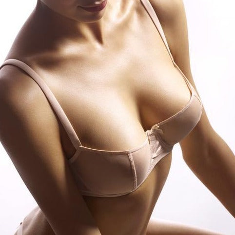 NOTTING-HILL-LINGERIE-LONDON-In soft touch stretch tulle, the Aubade Half Cup bra is ideal. The bust is shaped and lifted thanks to the vertical satin seams, the lacing at the centrepiece is sexy and the sheer tulle beautifully enhances the figure