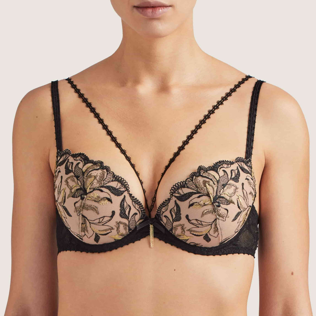 Aubade Encre de Chine Luxury Push Up Bra