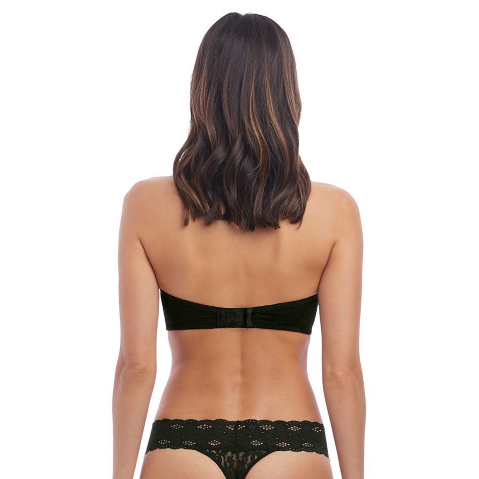 Wacoal Halo Lace Wired Soft Strapless Bra