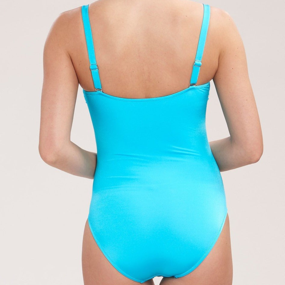 Feraud Spa Padded Strapless Ruched Swimsuit