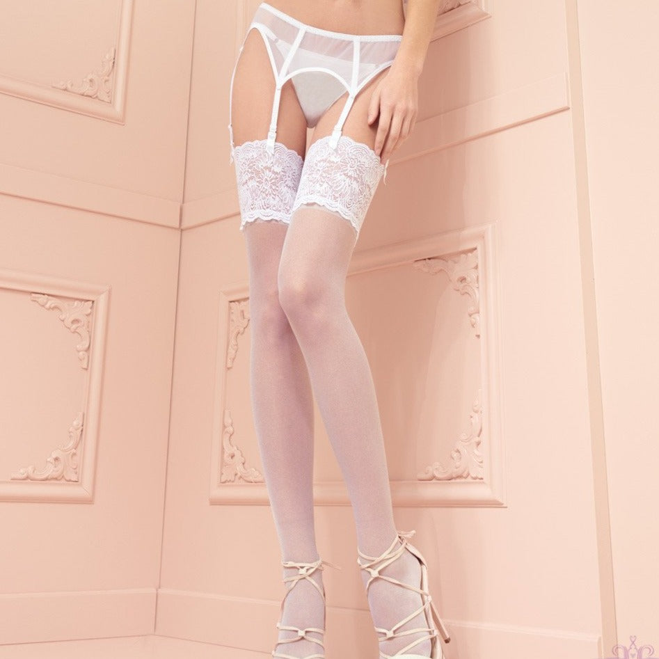 Trasparenze Eleonora Lace Stockings 30 Denier
