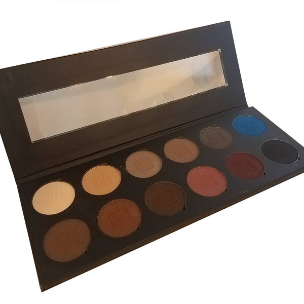 Ben Nye 12 Color Glam Eyeshadow Palette