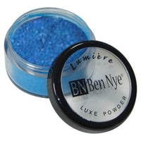 Ben Nye Lumiere Luxe Sparkle Powder - Cosmic Blue