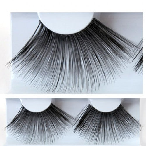 Kryolan Eyelashes (Black - Feathery Long)