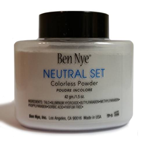 Ben Nye Setting Powders NeutralSet, SuperWhite