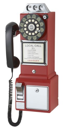 Crosley 1950's Payphone with Push Button Technology