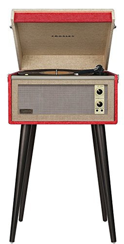 Crosley Bermuda Portable Turntable with Aux-in and Bluetooth