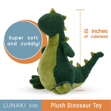 Load image into Gallery viewer, Dinosaur Stuffed Animal Plush Toy With Included Tutu