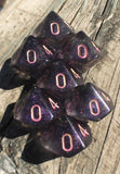 'Poor Unfortunate Souls' Shimmery Handmade D10 Dice
