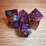 Sharp Edge Mollymauk Inspired Handcrafted Dice Preorder