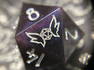 'Tsundere' Handmade 30mm Color Changing Gaming D20