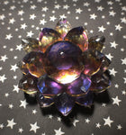 'Alchemy' Color Shifting Resin Large Crystal Hair Clip