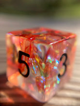 Load image into Gallery viewer, Halloween Themed Holographic Monster Gaming D6 Dice