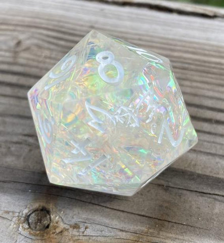 Custom Ink Sharp Edge 30mm Unicorn Tears Gaming D20