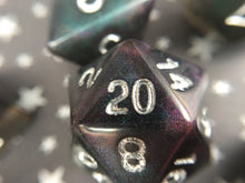Load image into Gallery viewer, Pandora's Corruption Handmade Polyhedral Gaming Dice Set