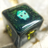 'Choose Me' Colorshifting Handmade D6 Gaming Dice