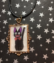 Load image into Gallery viewer, Jiji Inspired Glow in the Dark Pendant Necklace