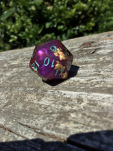 Load image into Gallery viewer, Mollymauk Inspired D20 Handmade Gaming D20 Dice