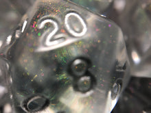 Load image into Gallery viewer, 'Prismatic Spray' Handmade D20 Gaming Dice