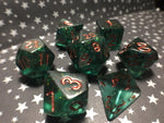 Savalierwood Critical Role Inspired Handmade Gaming Dice Set