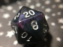 Load image into Gallery viewer, Pandora's Corruption Color Shifting Handmade Polyhedral Gaming Dice D20