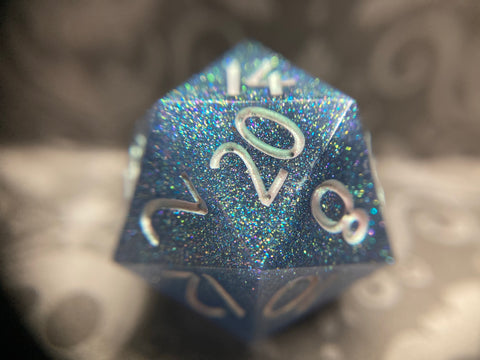 'Djinn' Sharp Edge Handmade Gaming D20