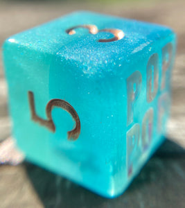 Beauregard Critical Role Inspired Handmade D6 Gaming Dice